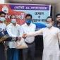কমলনগরে শতাধিক দুস্থ পরিবারকে খাদ্য সহায়তা দিল 'সাক'