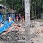 রামগঞ্জে আদালতের নিষেধাজ্ঞা অমান্য করে চলছে ভবনের নির্মান কাজ