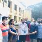 রায়পুর হাসপাতালে অক্সিজেন সিলিন্ডার ও পাল্স অক্সিমিটার উপহার
